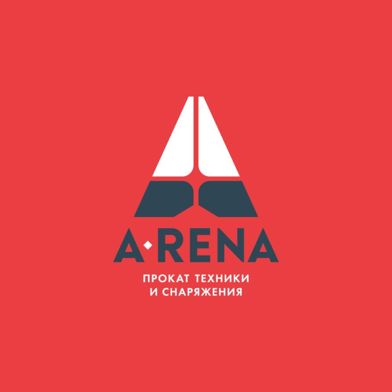 Логотип центра проката <br> техники и снаряжения «Арена»
