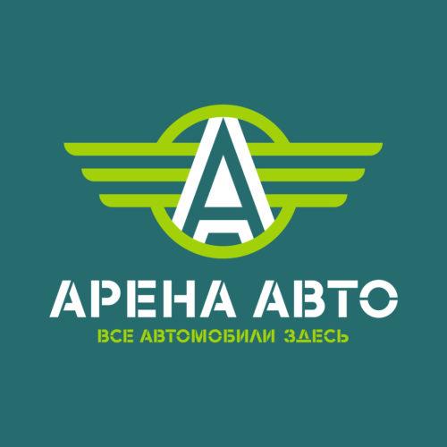 Логотип центра продажи <br> автомобилей «Арена Авто»