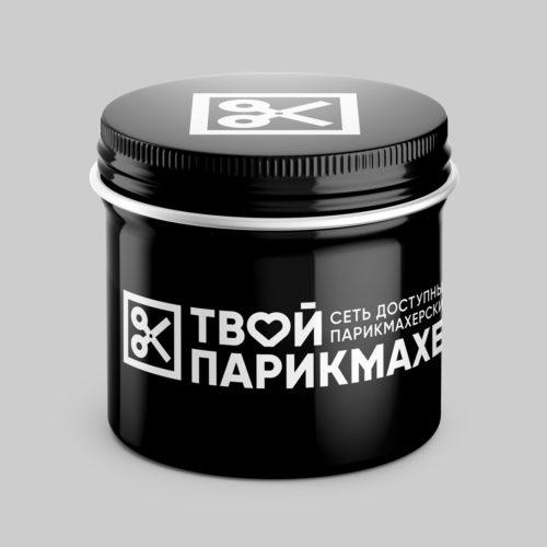 Логотип и элементы стиля сети <br> парикмахерских «Твой парикмахер»