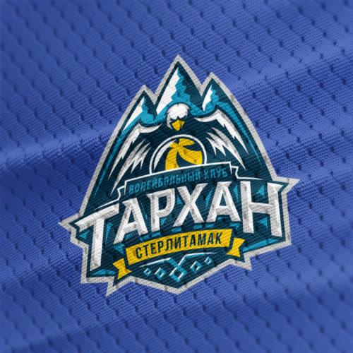 Название и логотип <br> волейбольной команды «Тархан»