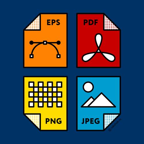 Форматы графических файлов.  9 распространенных форматов    изображений и чем их открывать